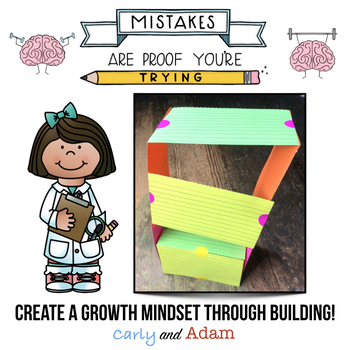 Growth Mindset READ ALOUD STEM™ Activities and Challenges Bundle