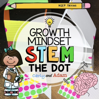 The Dot by Peter Reynolds Tower Builder Growth Mindset STEM Activity