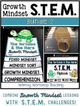 Growth Mindset STEM BUNDLE 2 - 8 Fairy Tales