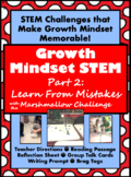 Growth Mindset STEM {Part 2: Learning From Mistakes}