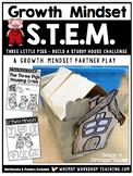 Growth Mindset STEM Three Little Pigs