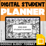 Growth Mindset STUDENT PLANNER / CALENDAR
