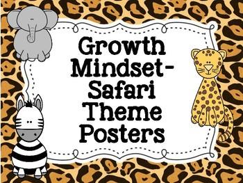 Growth Mindset- Safari Themed