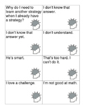 Growth Mindset Scenario Cards
