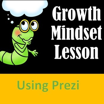 Growth Mindset School Counseling Lesson with Prezi