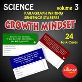 Growth Mindset Science Bell Ringer Vol. 3 NO PREP