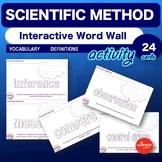 Science Bell Ringer Scientific Method Interactive Word Wal