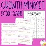 Growth Mindset Scoot Game School Counseling Game for Growt