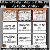 Growth Mindset Seasonal Bulletin Board Kits Mega Bundle
