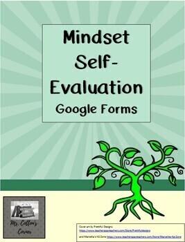 Growth Mindset Self-Evaluation - Google Form - Distance Learning