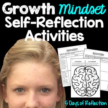 Growth Mindset Self-Reflection Activity