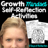 Growth Mindset Self-Reflection Activity
