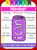 Growth Mindset Can Can Craft, Upper Grades