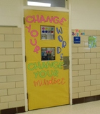 Growth Mindset Sign for Door or Bulletin Board