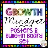 Growth Mindset Simple & Bright Bulletin Board Set
