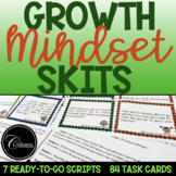 Growth Mindset Skits & Task Cards