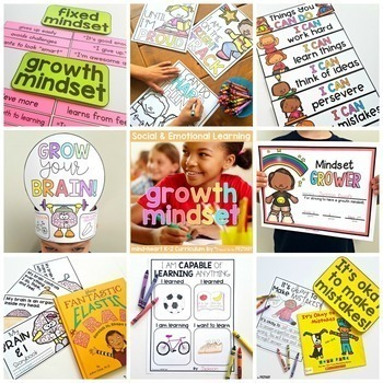 Growth Mindset - Social Emotional Learning & Character Education Curriculum