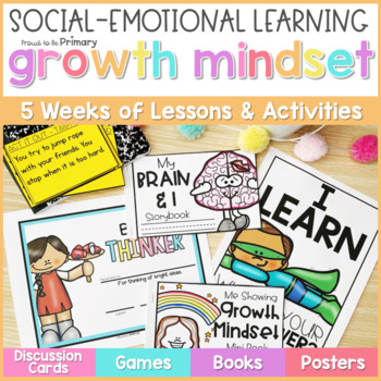 Growth Mindset Activities - Social Emotional Learning & Character Education