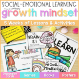 Growth Mindset Activities K-2 - Social Emotional Learning