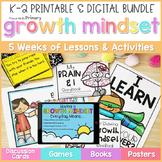 Growth Mindset - Social Emotional Learning - PRINTABLE & D