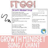 Growth Mindset Song