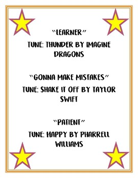 Growth Mindset Songs