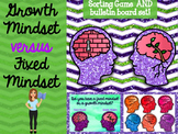 Growth Mindset Sorting Game and Bulletin Board Set