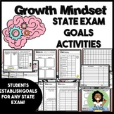 Growth Mindset State Exam Data Analysis and Goals Activity Middle & High School