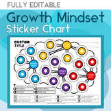 Growth Mindset Sticker Chart