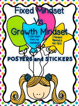 Fixed Mindset vs. Growth Mindset Posters