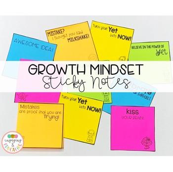 Growth Mindset Sticky Notes!