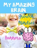 Growth Mindset Banners ~ END OF THE YEAR REFLECTION