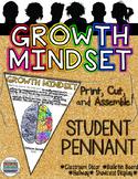 GROWTH MINDSET STUDENT PENNANT