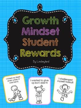 Growth Mindset Student Rewards