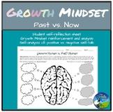 Growth Mindset Student Self-Reflection and Analysis sheet