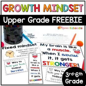 Growth Mindset Activities FREE