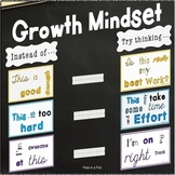 Back to School Bulletin Boards Growth Mindset