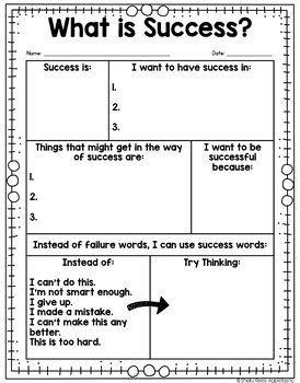Growth Mindset Success Folders - FREE Growth Mindset Activity