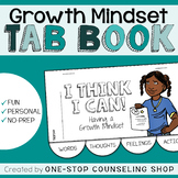 Growth Mindset Tab Book