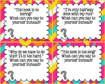 Growth Mindset Task Cards!