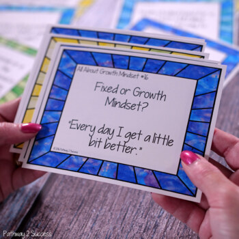 Growth Mindset Task Cards