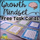Growth Mindset Task Cards FREE Sampler