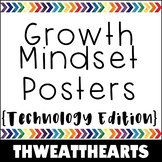 Growth Mindset Technology Posters