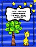 Growth Mindset Test Prep Activity