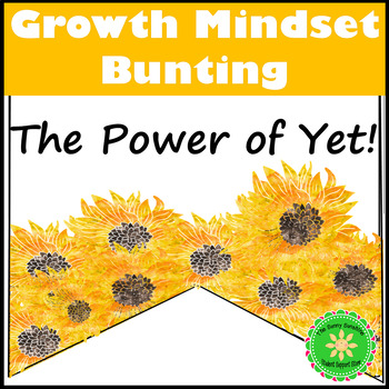 Growth Mindset- The Power of Yet! Classroom Decor