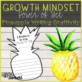 Growth Mindset - The Power of Yet - Pineapple Writing Craftivity