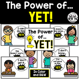 Growth Mindset: The Power of Yet Posters for Primary Students