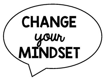 Growth Mindset Thinking Stems Bulletin Board Display