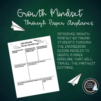 Growth Mindset Through Paper Airplanes