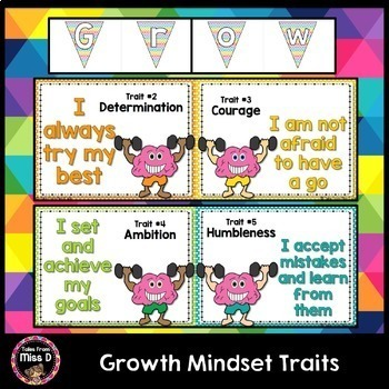 Growth Mindset Traits